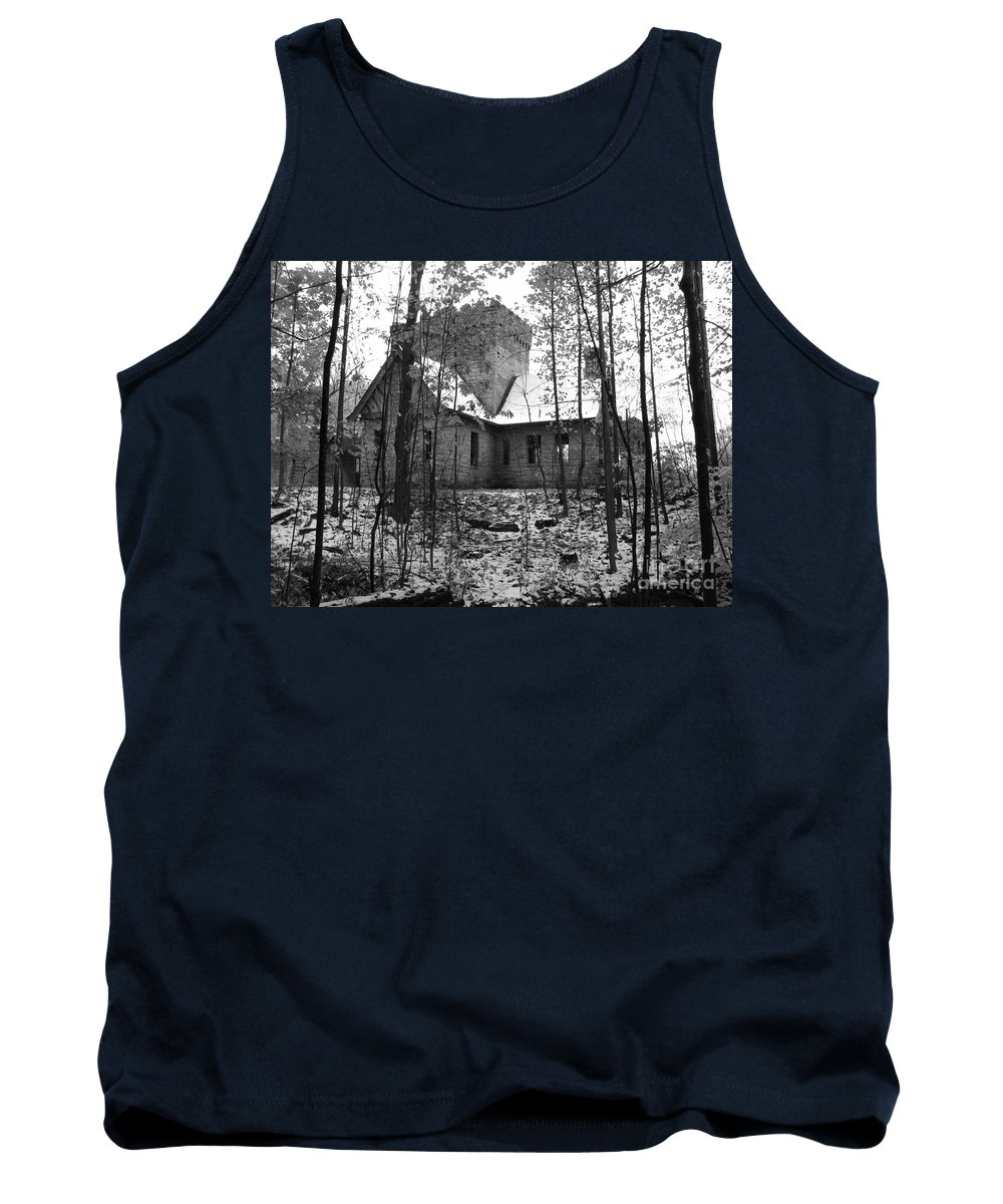 Castle Tank Top featuring the photograph Artic Castle by Michael Krek