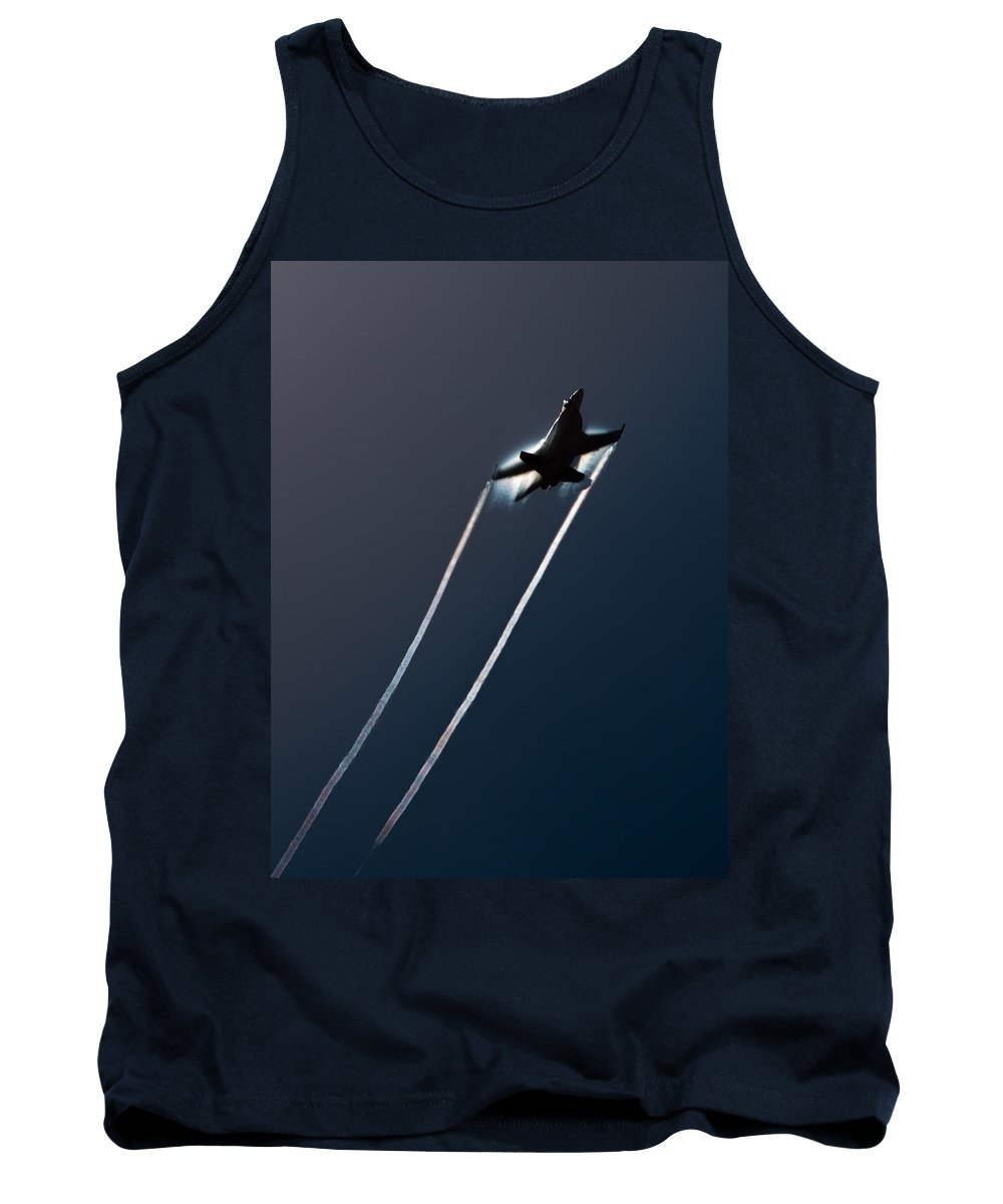 F-18 Tank Top featuring the photograph Ascending To The Heavens by John Daly