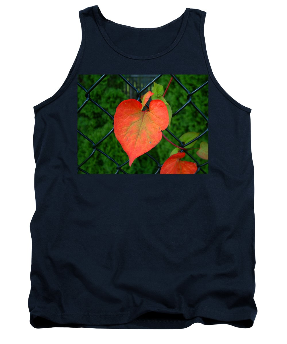 Vine Tank Top featuring the photograph Autumn In July by RC deWinter