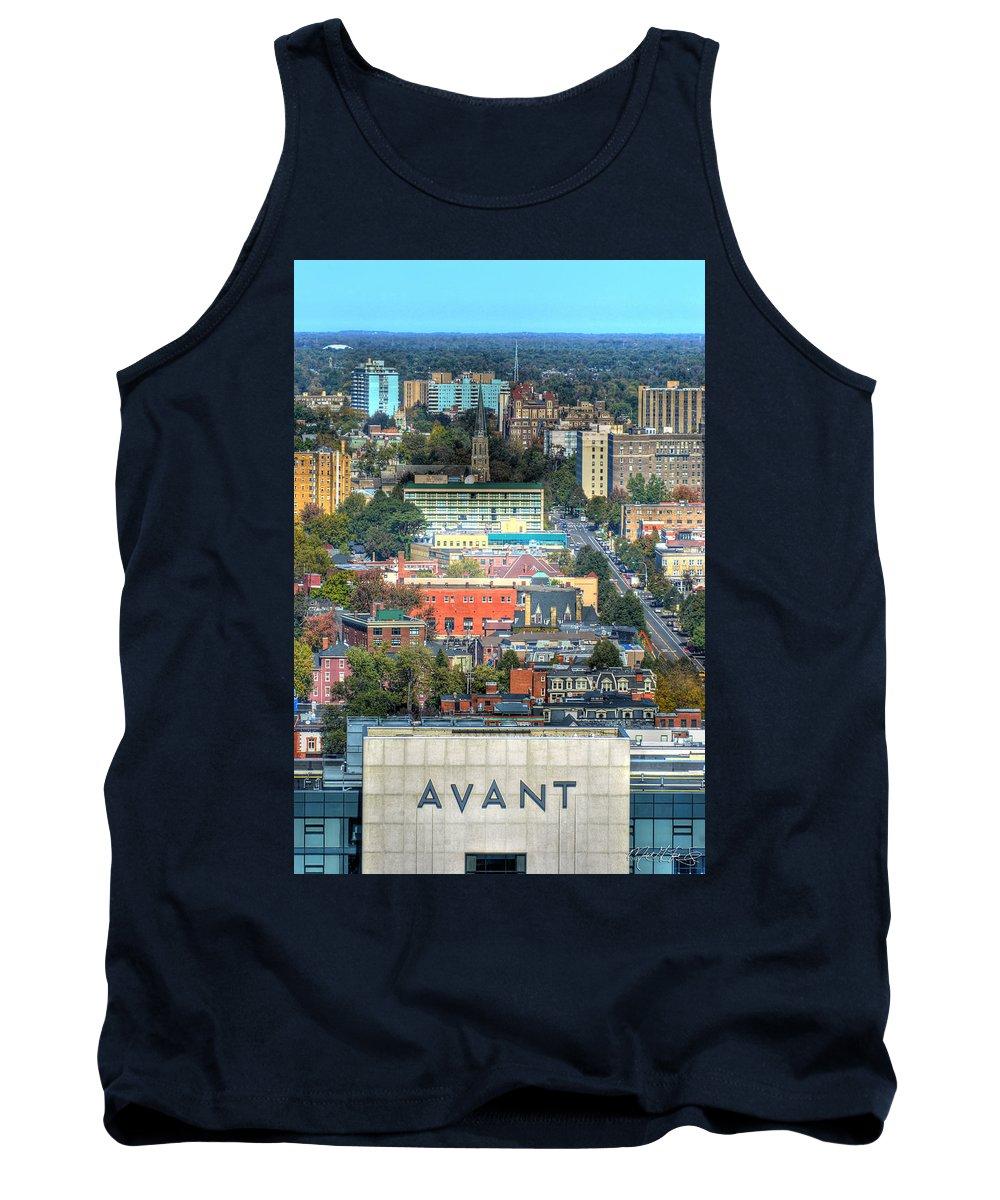 Avant Tank Top featuring the photograph Avant Autumn 2013 Vertical by Michael Frank Jr
