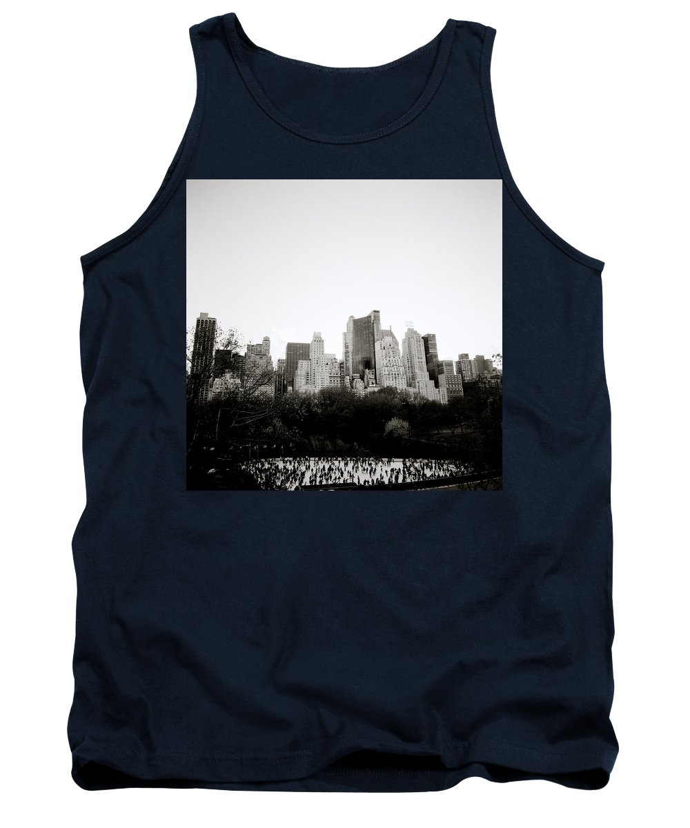 Inspiration Tank Top featuring the photograph New York Memories by Shaun Higson