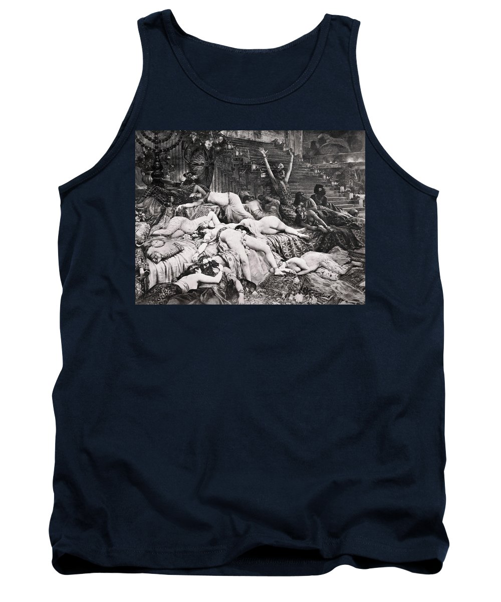 Ancient Tank Top featuring the photograph Belshazzars Feast by Granger