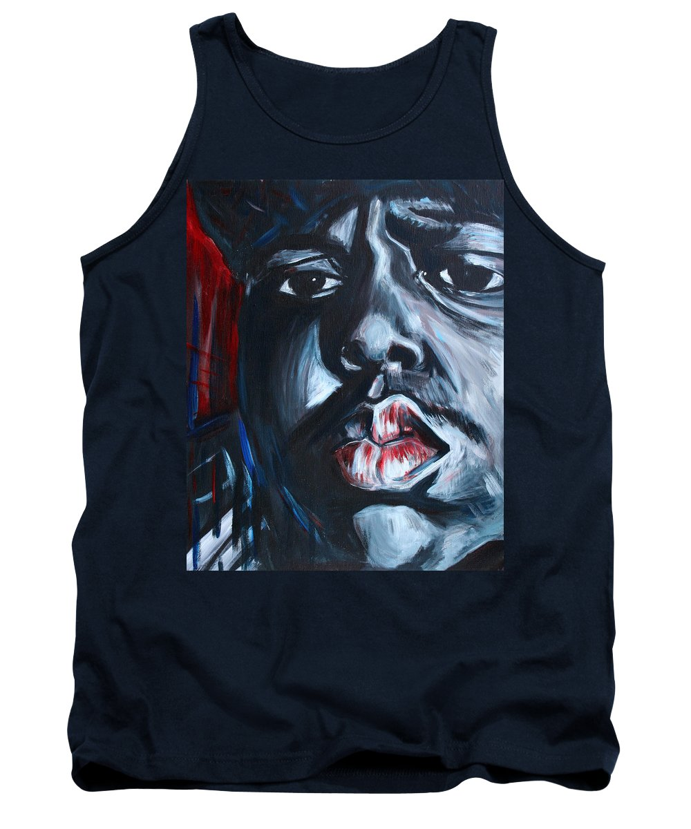 Biggie Tank Top featuring the painting Biggie by Kate Fortin