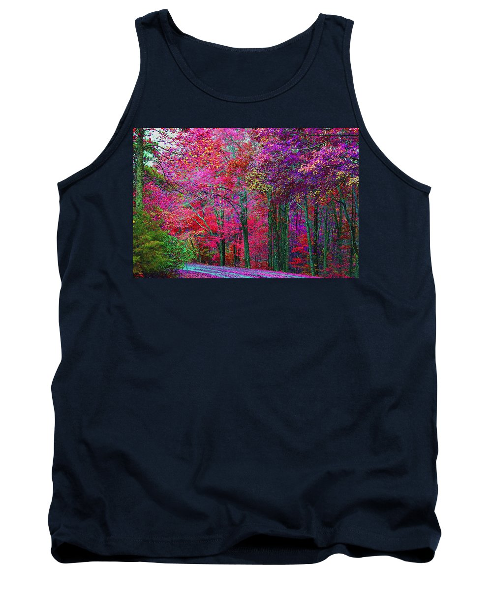 Colorful Forrest Tank Top featuring the photograph Bountiful Color by Dennis Baswell