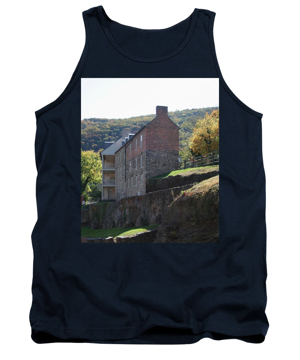 Rock Tank Top featuring the photograph Built On A Rock by Rebecca Smith