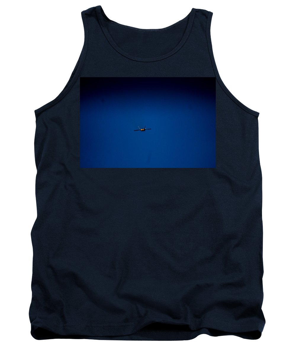 Tank Top featuring the photograph Bye by Sue Conwell