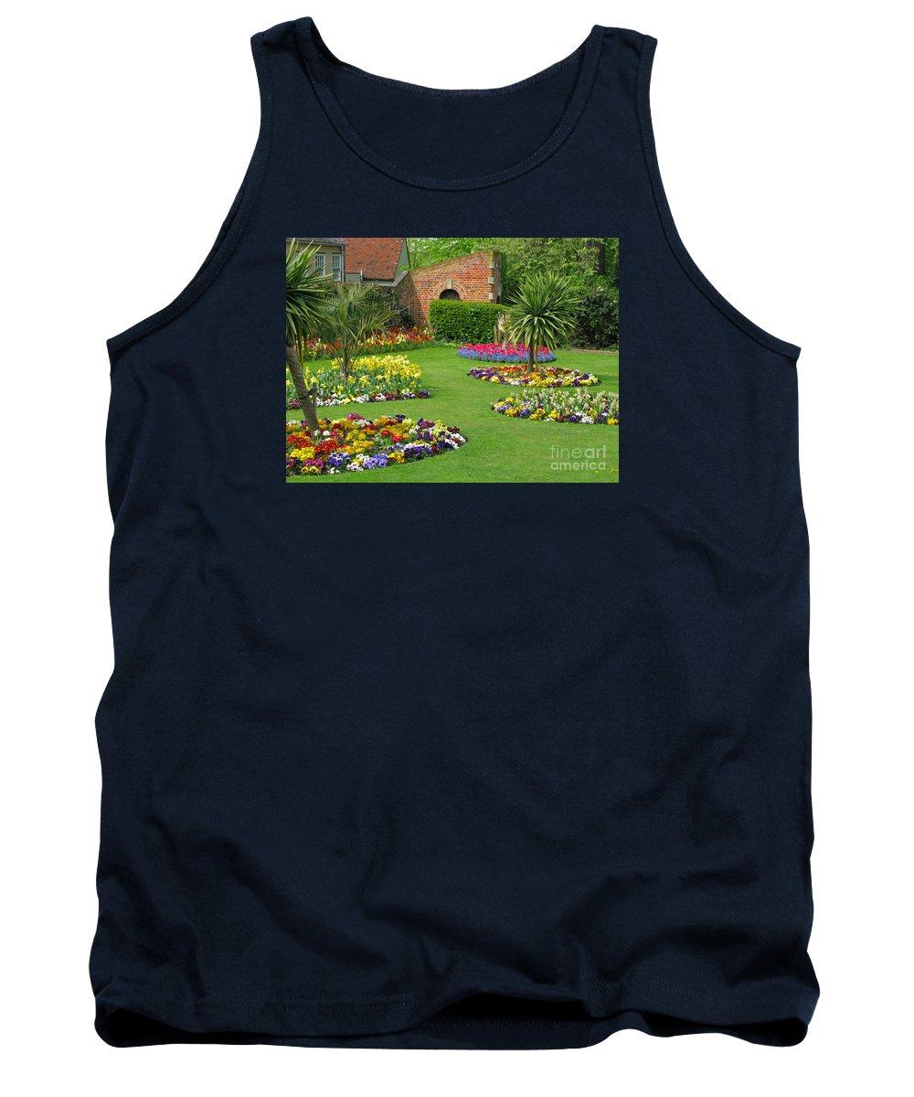 Garden Tank Top featuring the photograph Castle Park Gardens by Ann Horn