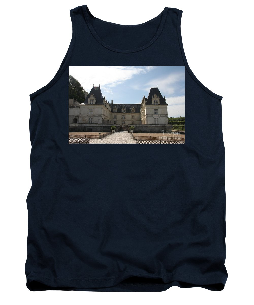Palace Tank Top featuring the photograph Chateau Villandry by Christiane Schulze Art And Photography
