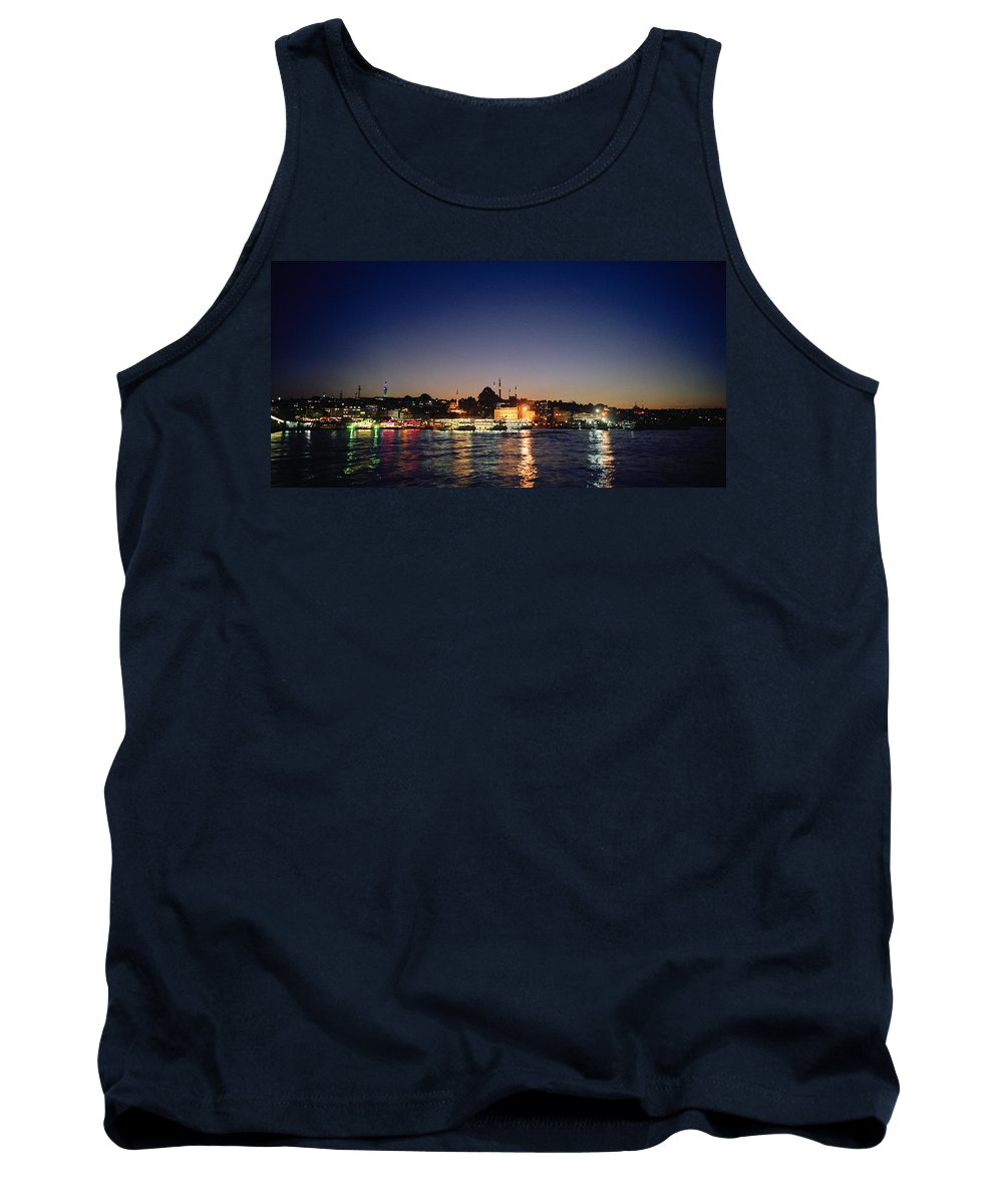 Istanbul Tank Top featuring the photograph Colours Of Istanbul by Shaun Higson