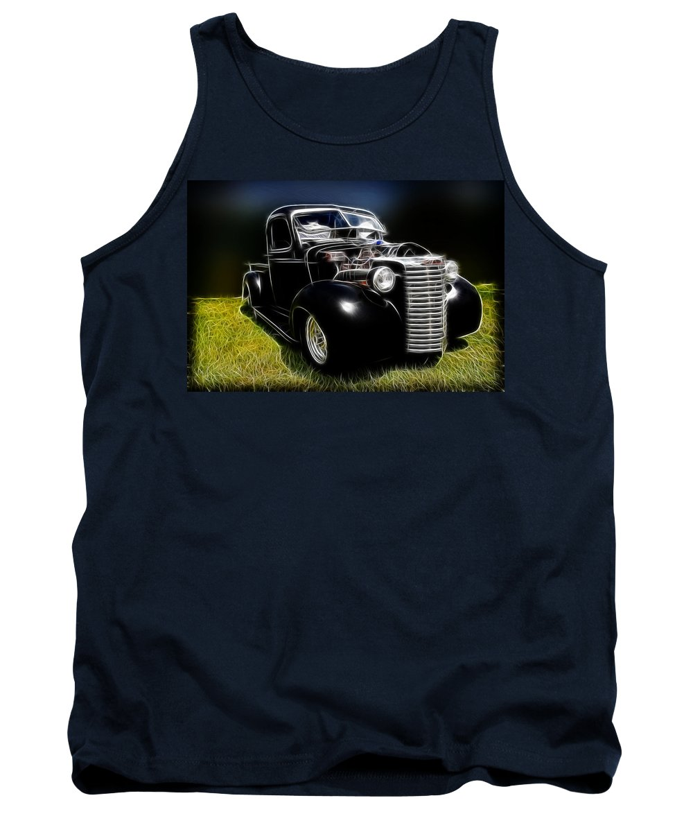 1937 Chevy Pickup Tank Top featuring the photograph Classic Chevy Truck by Steve McKinzie
