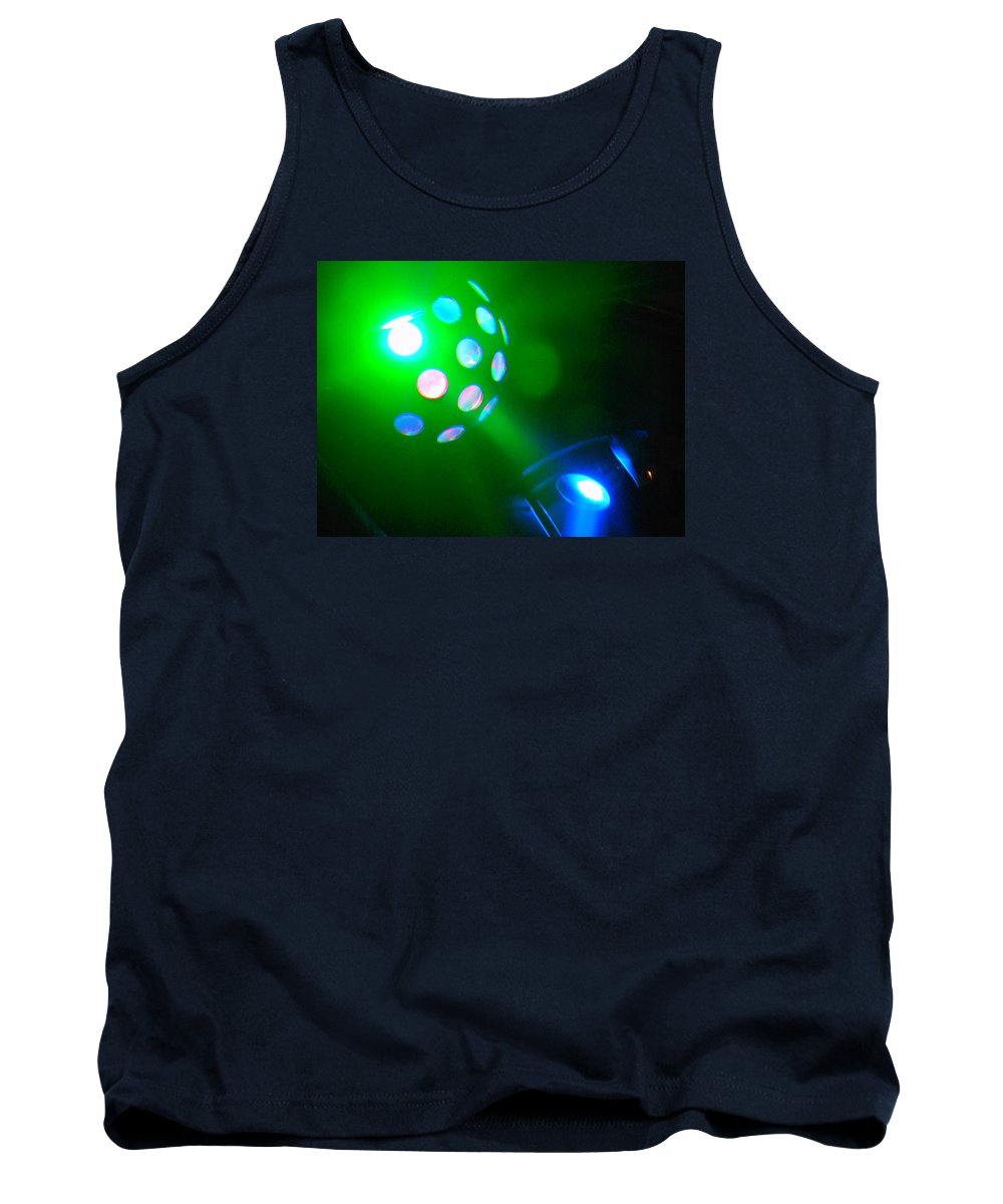 Gallery Tank Top featuring the photograph Close Contact With A Green Ufo by James Welch