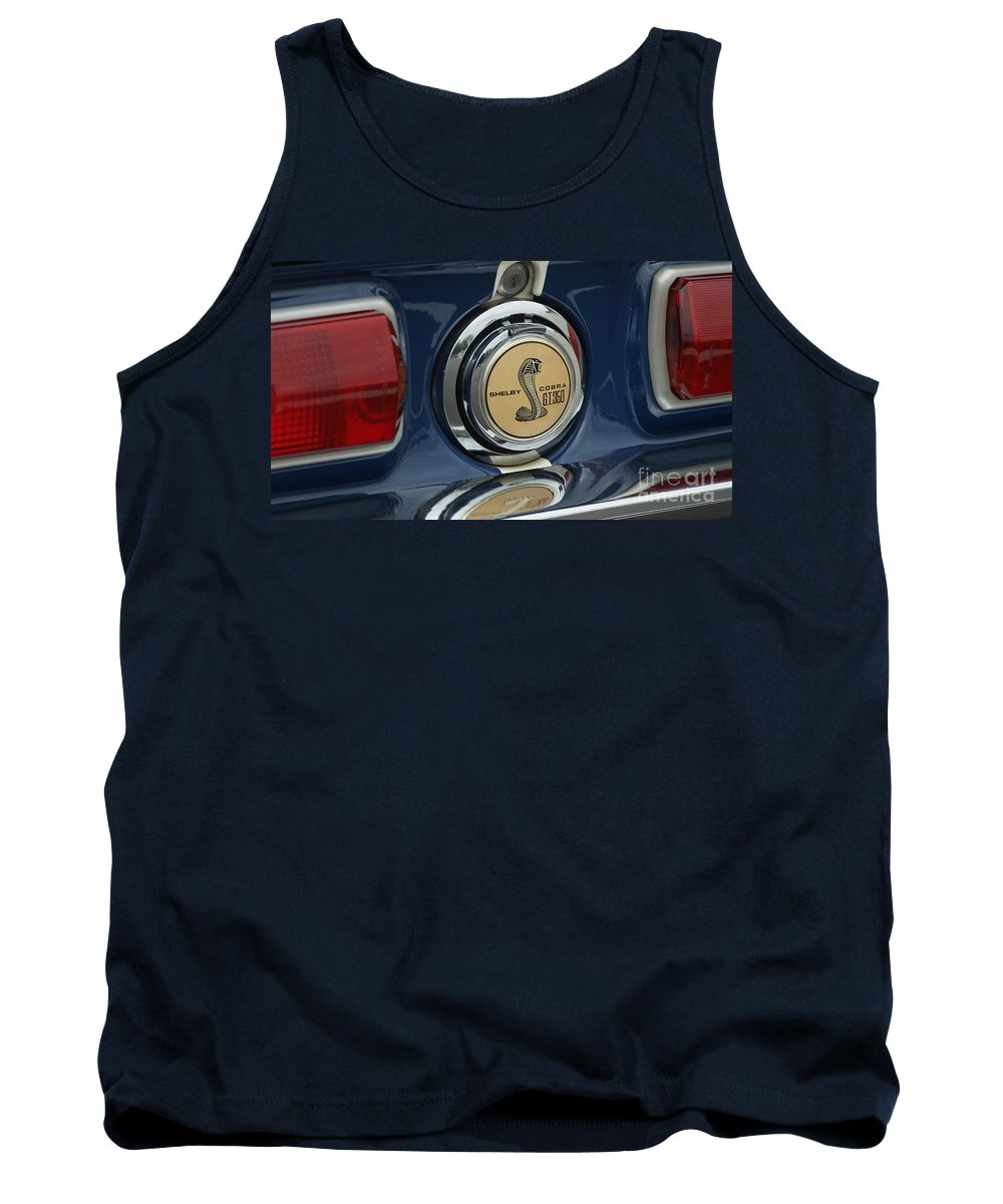 Cobra Tank Top featuring the photograph Cobra G.t. 350 by Rob Luzier