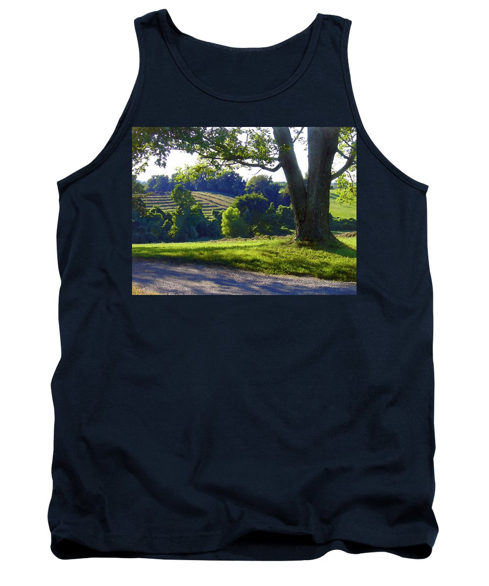 Landscape Tank Top featuring the photograph Country Landscape by Steve Karol
