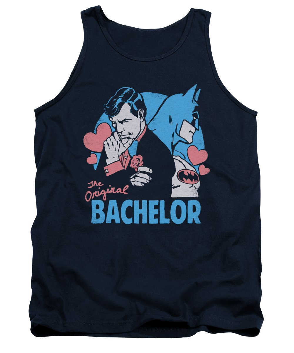 Dc Comics Tank Top featuring the digital art Dc - Bachelor by Brand A