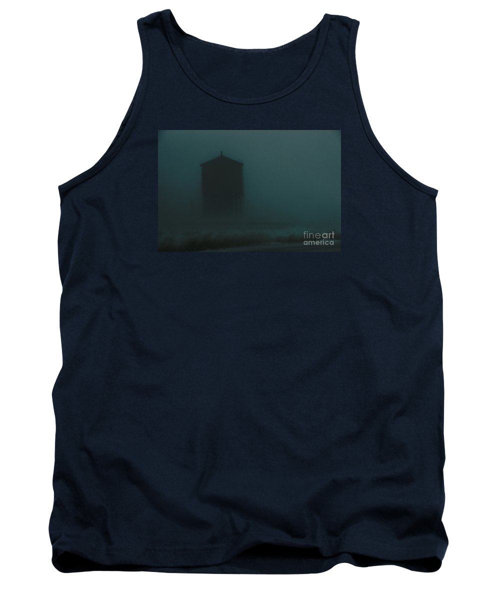 Water-tank Tank Top featuring the photograph Desolate Journey by Linda Shafer