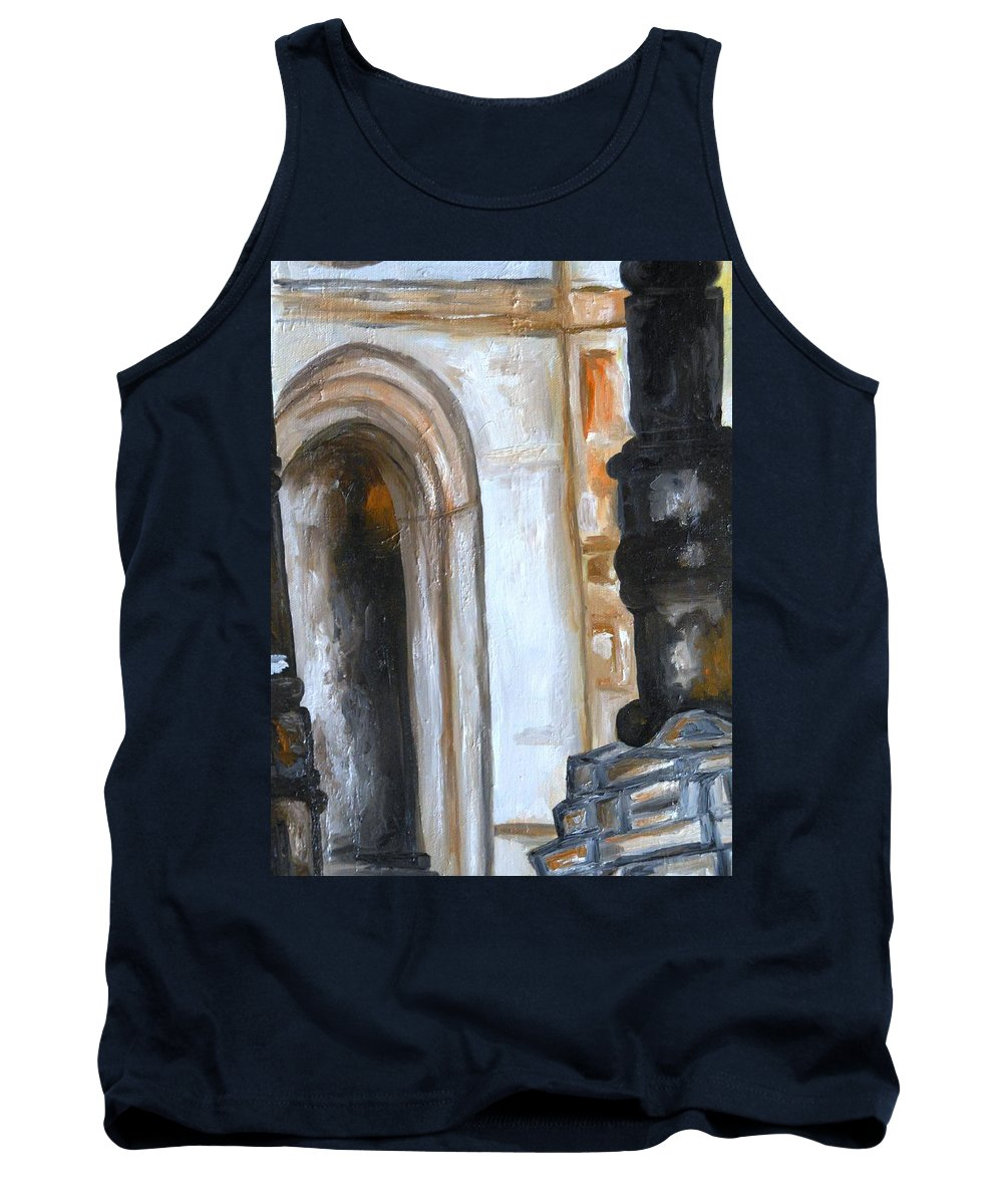 Paintings By Lyle Tank Top featuring the painting Door Ways by Lord Frederick Lyle Morris