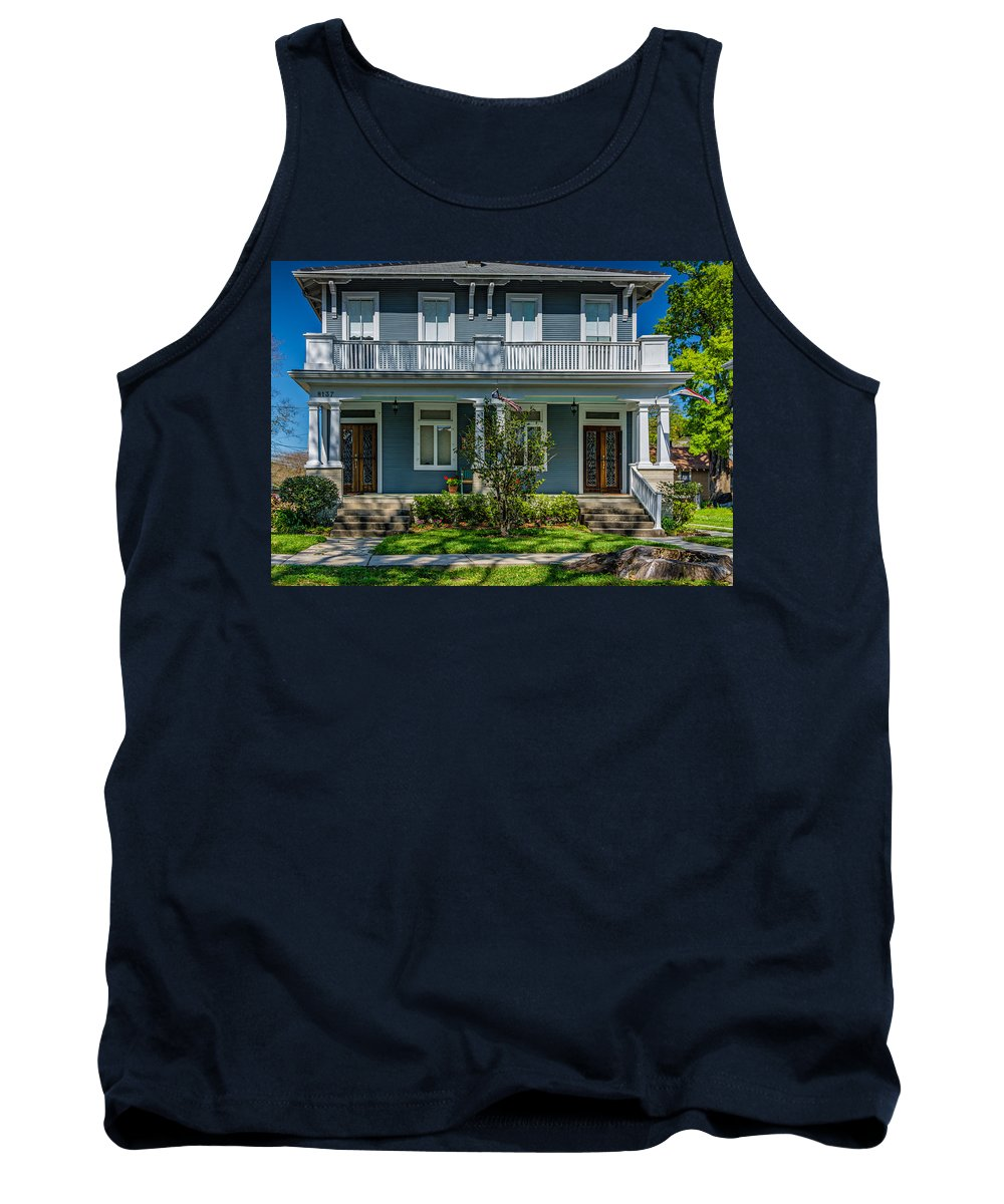 Home Tank Top featuring the photograph Double Barreled Shotgun by Steve Harrington