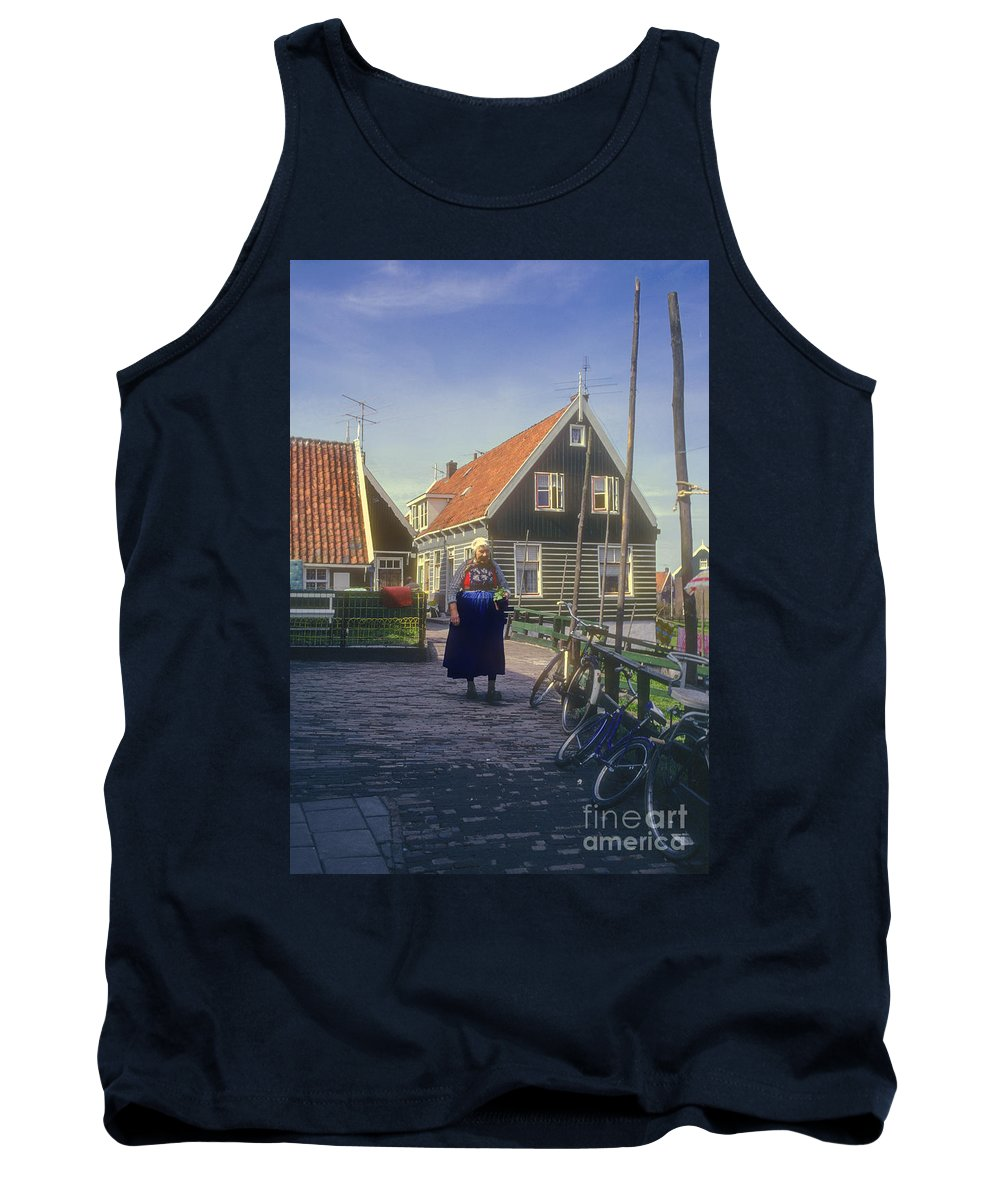 Marken Tank Top featuring the photograph Dutch Traditional Dress by Bob Phillips