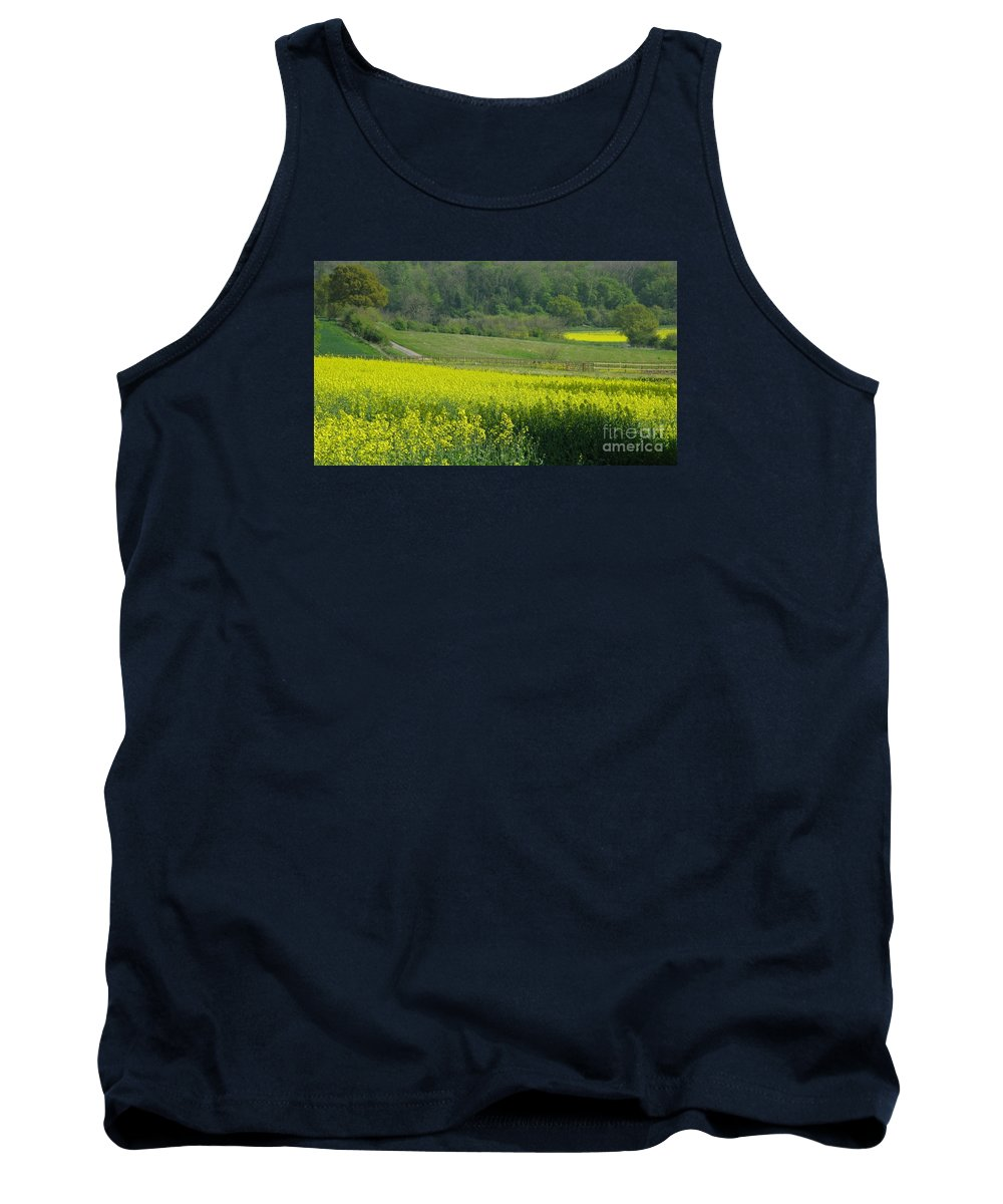 England Tank Top featuring the photograph English Countryside by Ann Horn