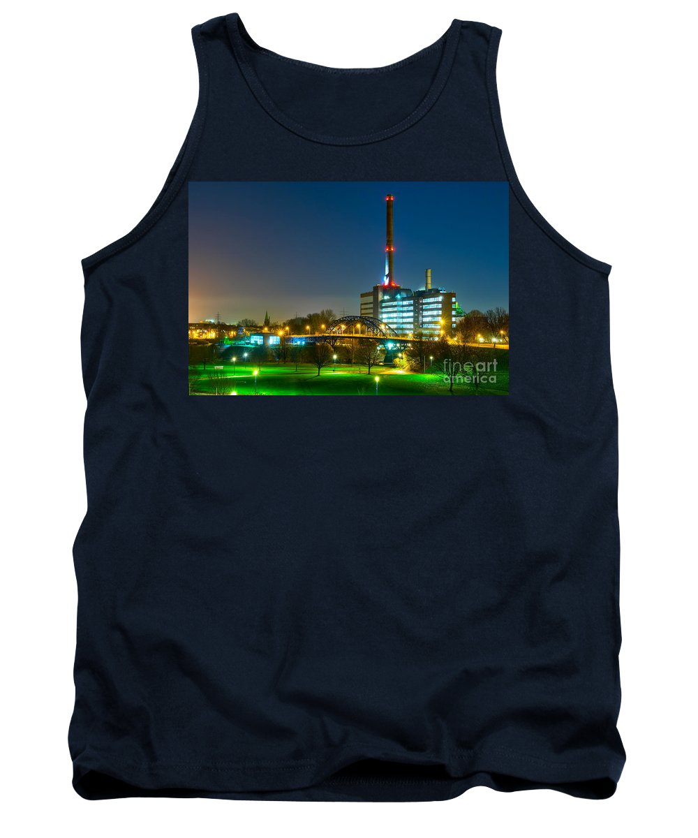 Factory Tank Top featuring the photograph Factory Thyssen Duisburg by Daniel Heine