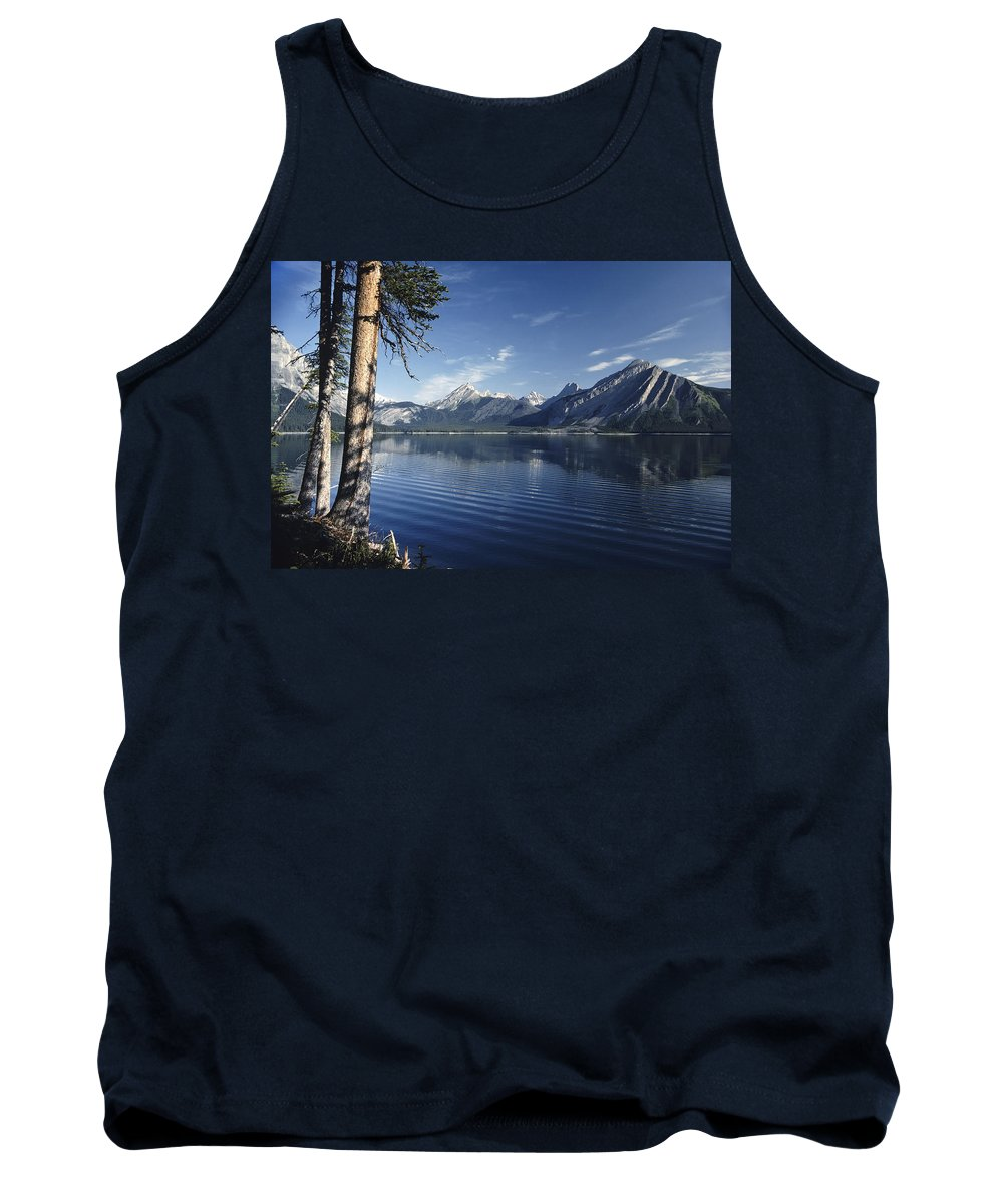 Americas Tank Top featuring the photograph Gentle Ripples by Roderick Bley