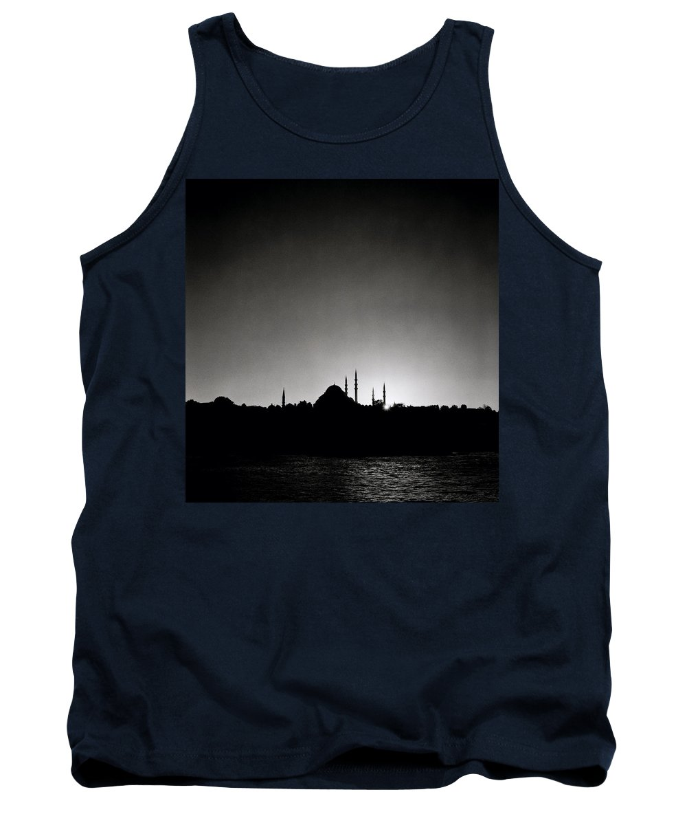 Istanbul Tank Top featuring the photograph Golden Horn by Shaun Higson
