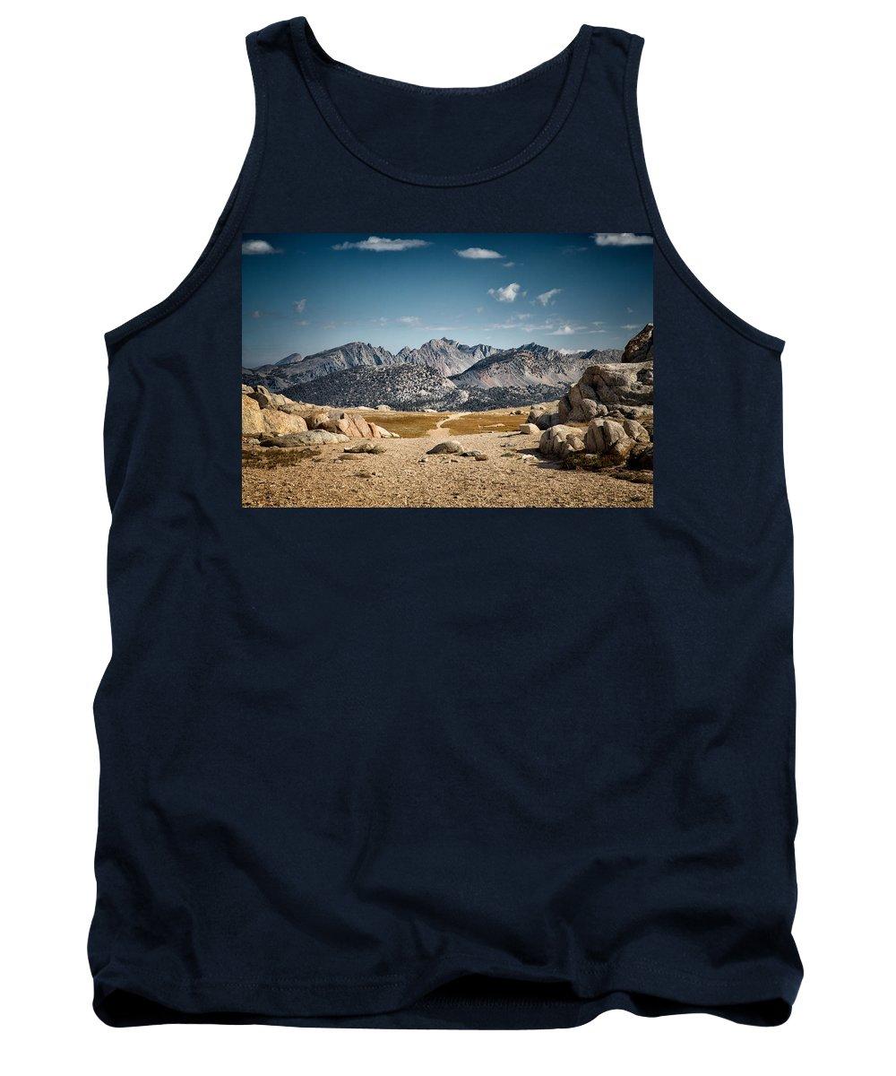 John Muir Trail Tank Top featuring the photograph Goodale Pass by Shauna Milton