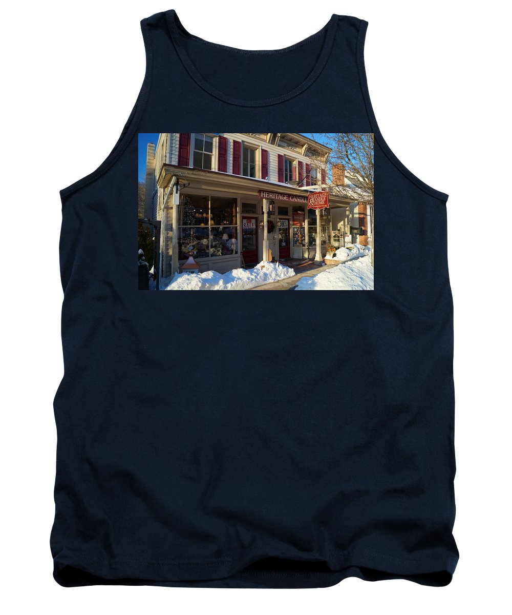 Heritage Tank Top featuring the photograph Heritage Candle by John Wall