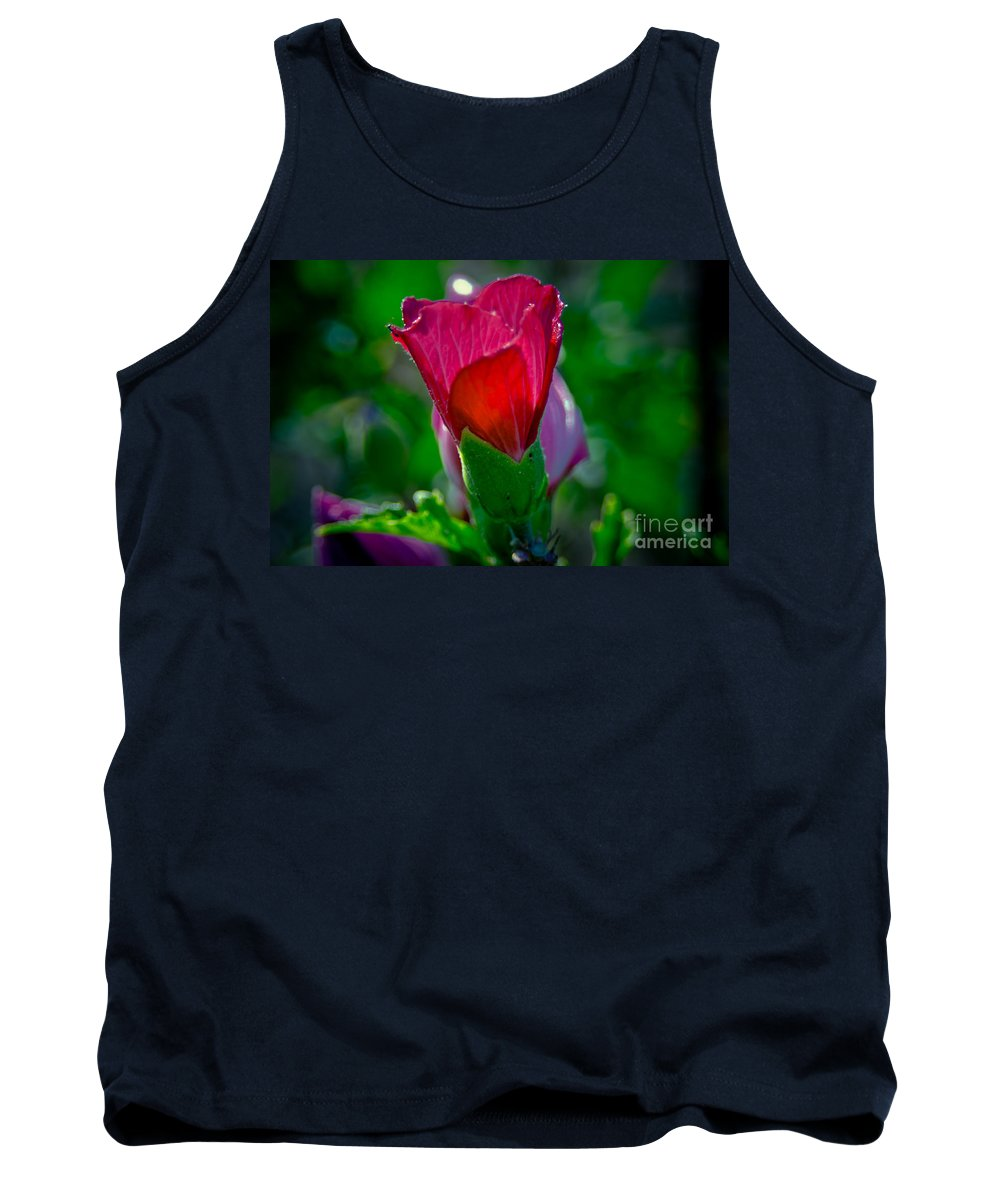 Hibiscus Tank Top featuring the photograph Hibiscus by Scott Hervieux