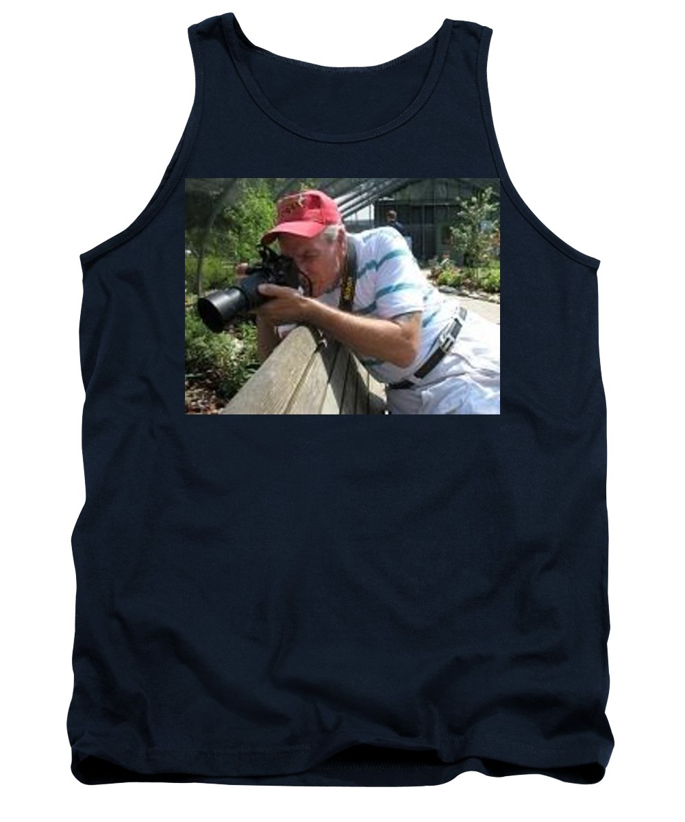 Tom Woolworth Tank Top featuring the photograph Hold Still by Thomas Woolworth