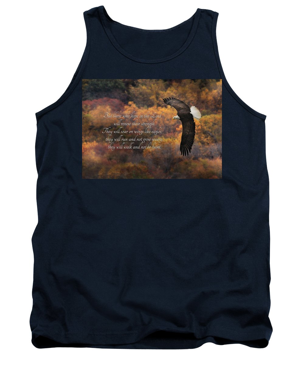 Hope In The Lord Tank Top featuring the photograph Hope In The Lord by Lori Deiter