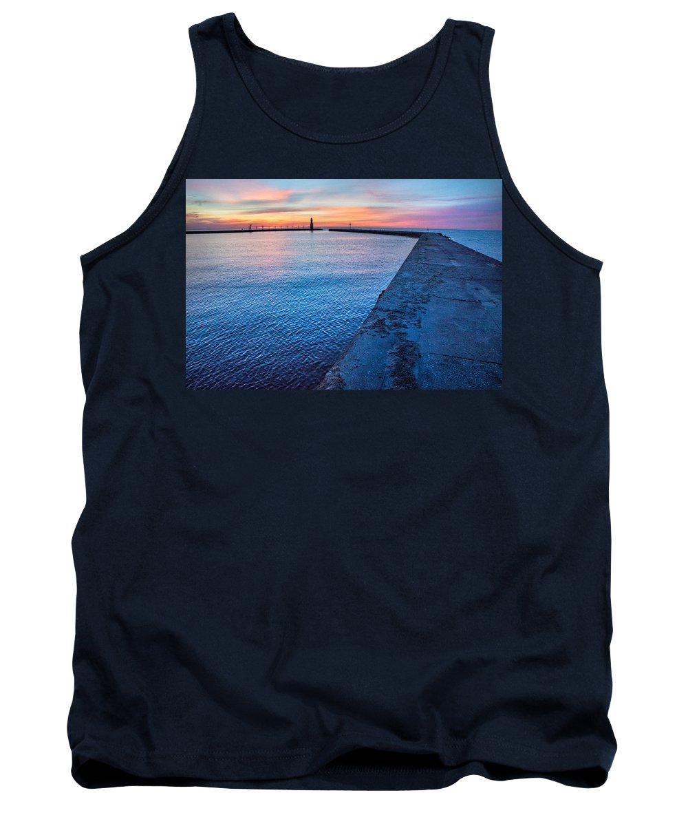 Lighthouse Tank Top featuring the photograph Hope On The Horizon by Bill Pevlor