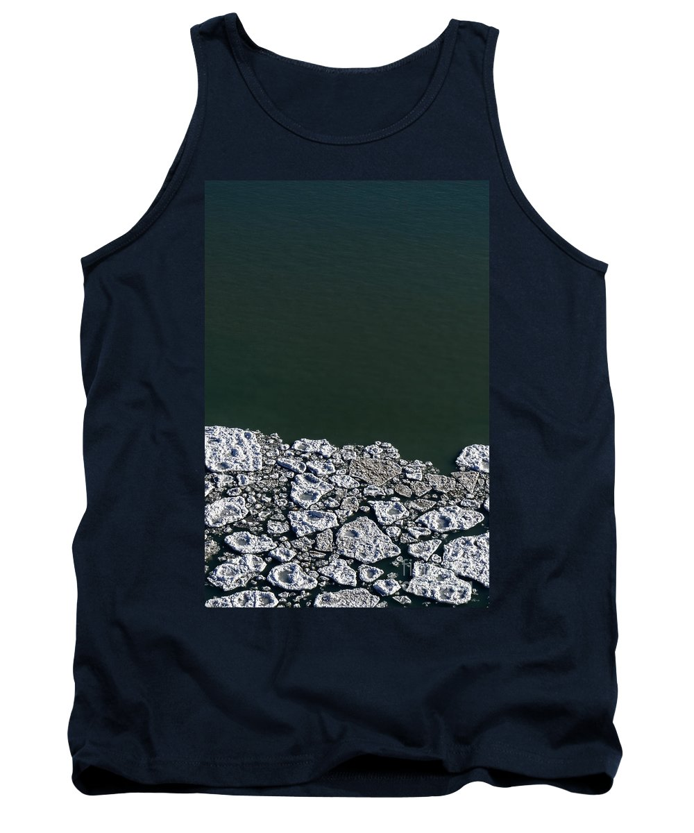 Ice Tank Top featuring the photograph Ice Abstract 10 by Margie Hurwich