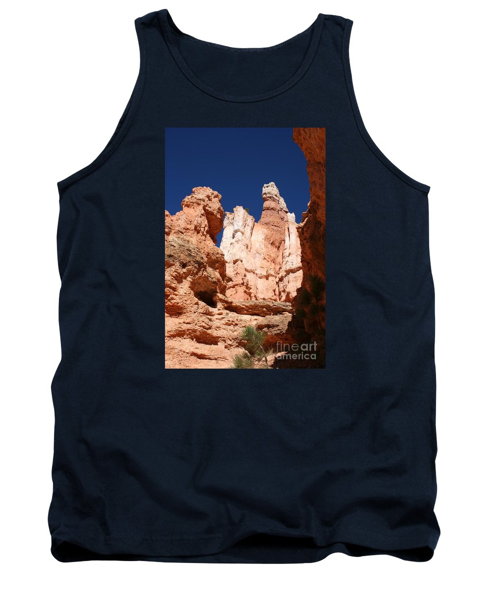 Canyon Tank Top featuring the photograph In The Bryce Canyon by Christiane Schulze Art And Photography