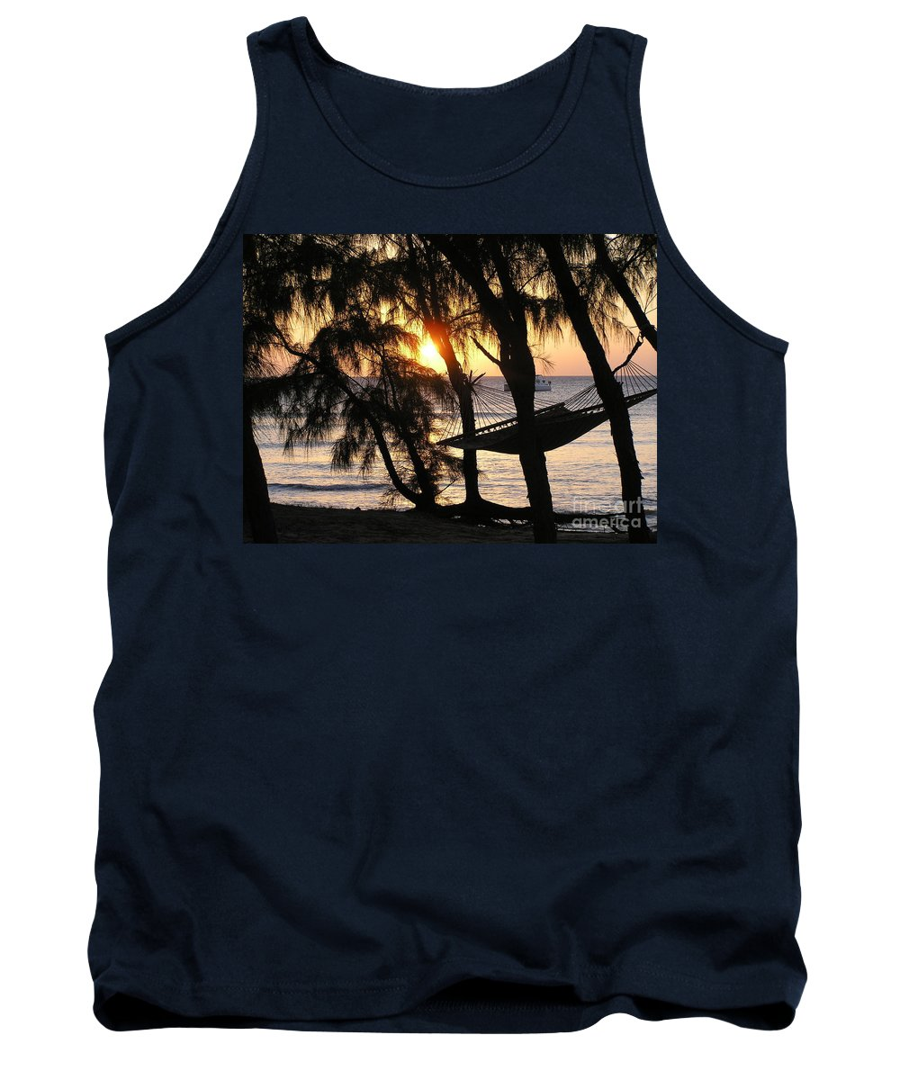 Sunsets Tank Top featuring the photograph It's Ok - Relax by Donna Spencer