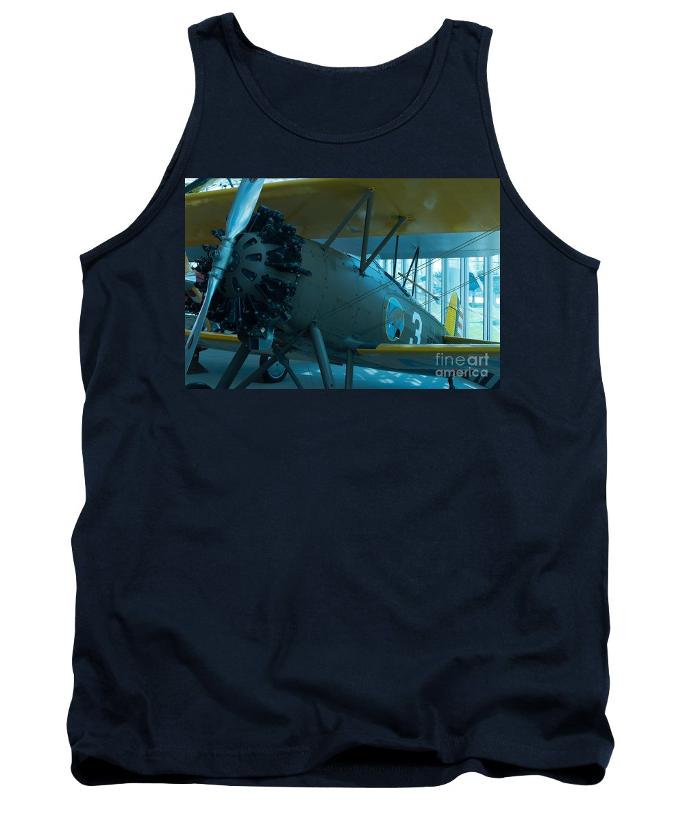 Aircraft Tank Top featuring the photograph Kicking Up Heels by Rich Priest