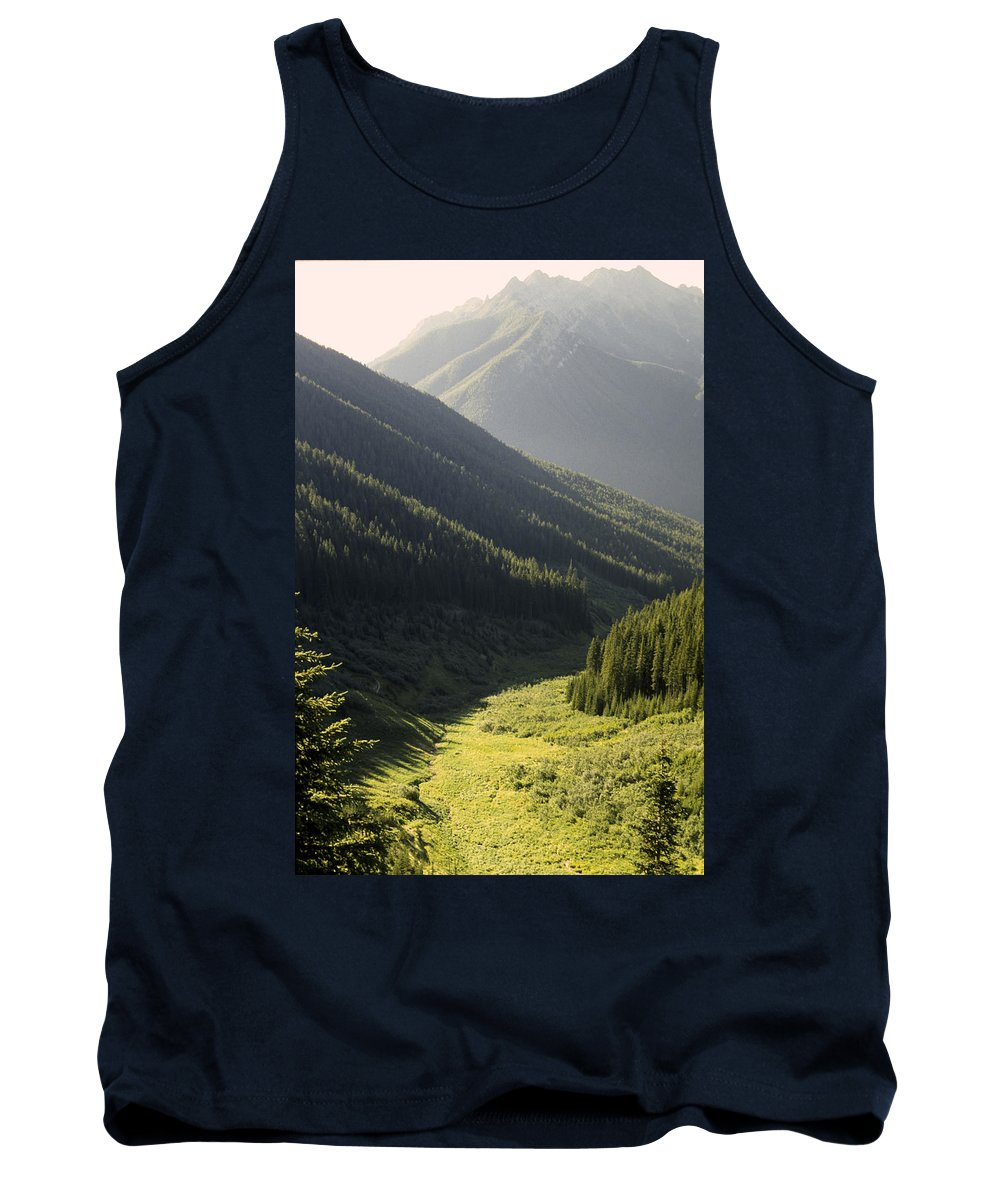 Ecology Tank Top featuring the photograph Late Afternoon Shroud by Roderick Bley