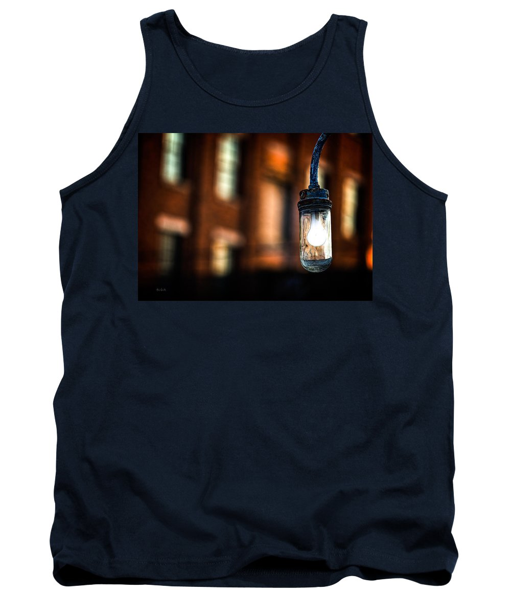 Abstract Tank Top featuring the photograph Lightbulb Bates Mill #5 by Bob Orsillo