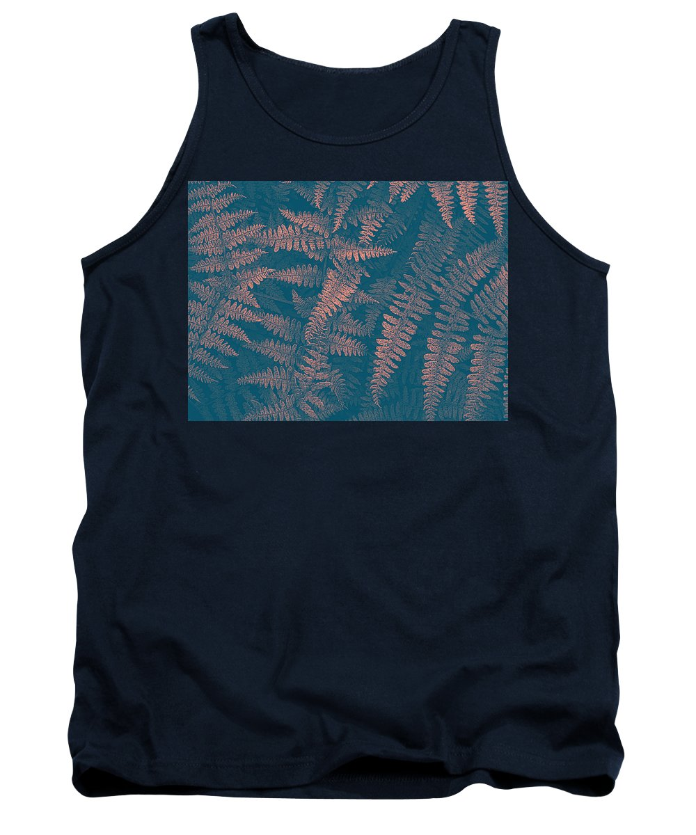 Ferns Tank Top featuring the photograph Looking At Ferns Another Way by Mother Nature