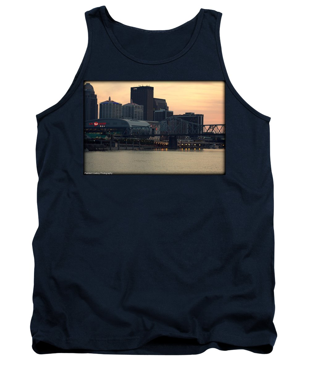 Boat Tank Top featuring the photograph Louisville 1 by Daniel Jakus