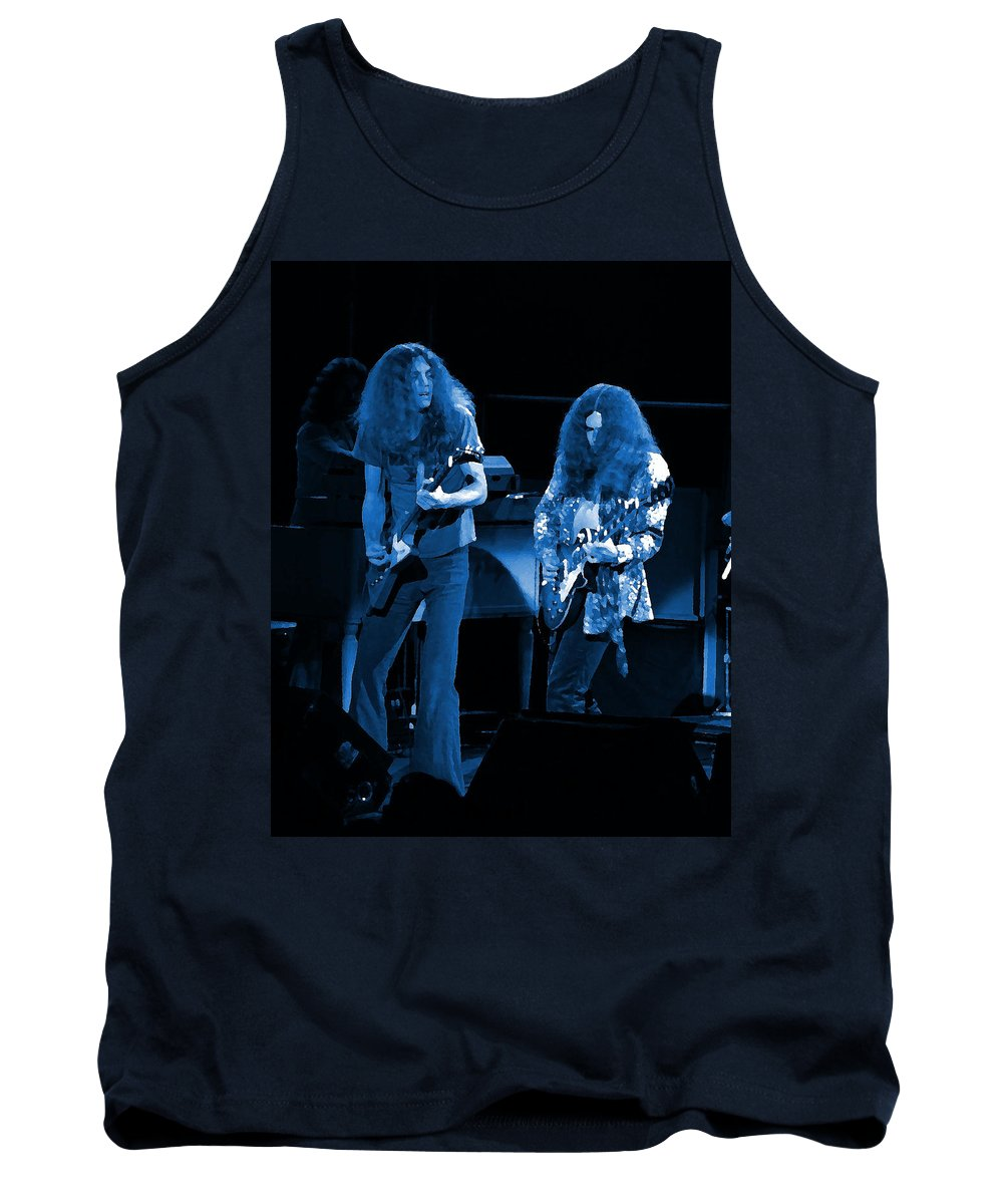 Lynyrd Skynyrd Tank Top featuring the photograph Ls Spo #21 Crop 4 In Blue by Ben Upham