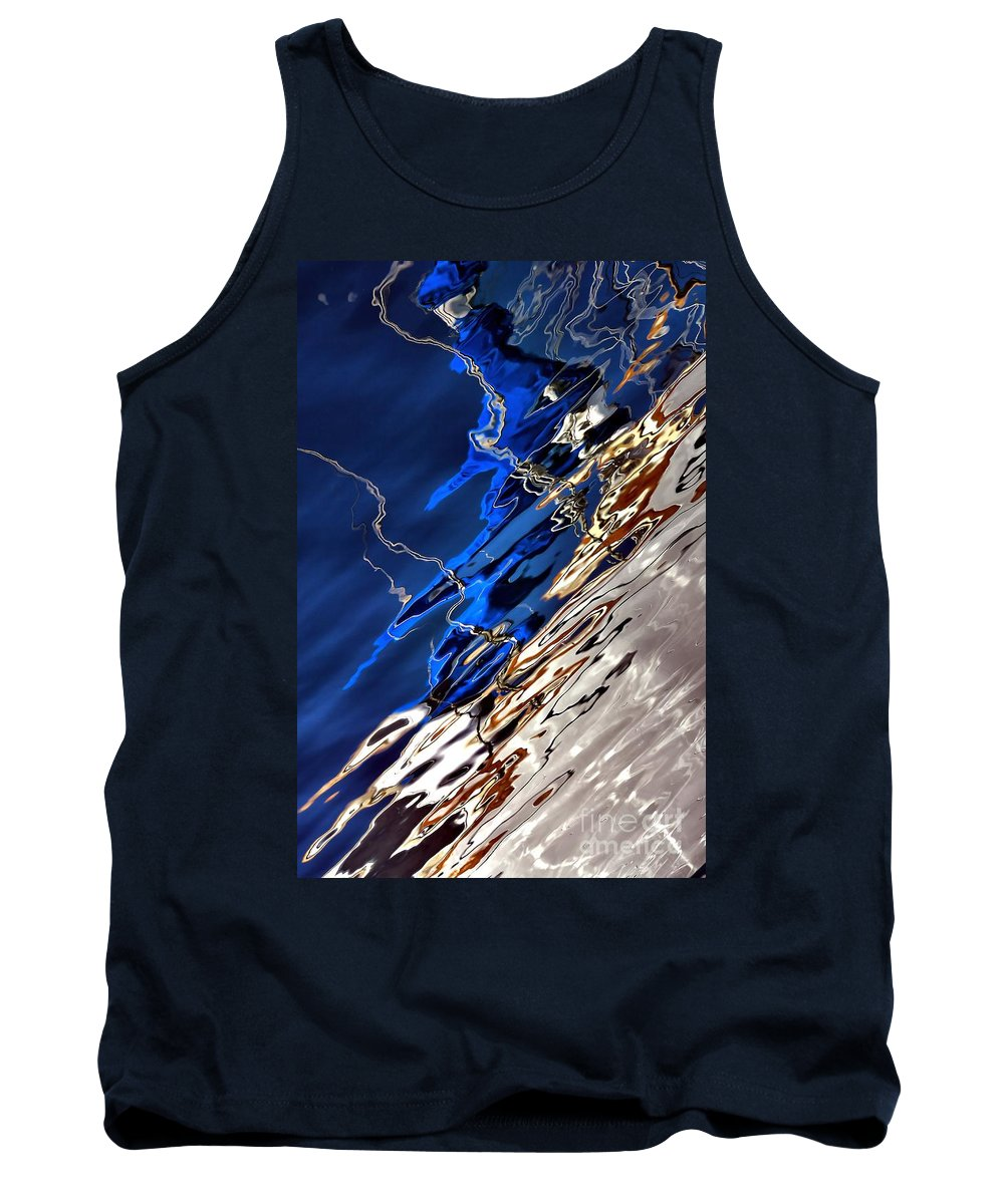 Abstract Tank Top featuring the photograph Make Believe by Lauren Leigh Hunter Fine Art Photography