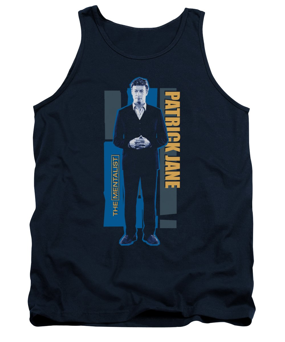 Mentalist Tank Top featuring the digital art Mentalist - Patrick Jane by Brand A