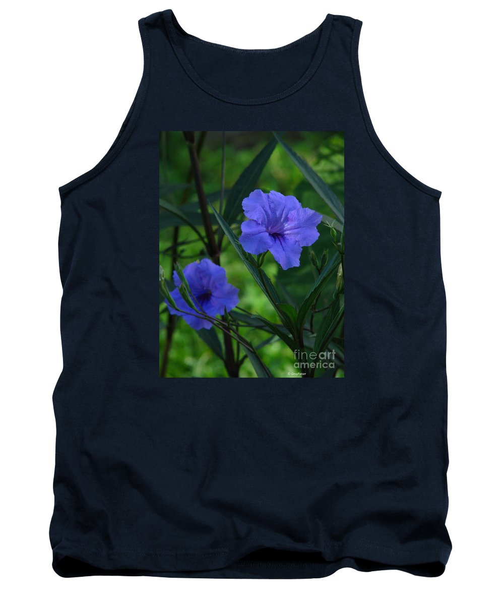 Art For The Wall...patzer Photography Tank Top featuring the photograph Mexican Bell by Greg Patzer