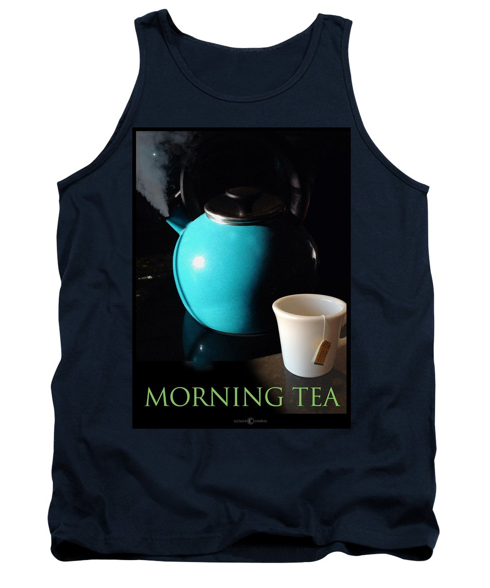 Tea Tank Top featuring the photograph Morning Tea Two by Tim Nyberg