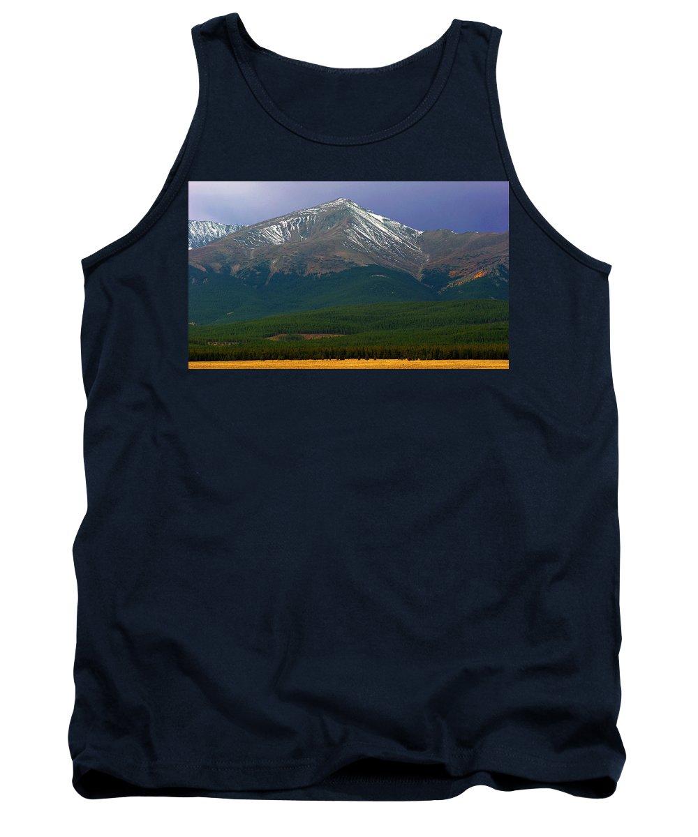 Mt. Elbert Tank Top featuring the photograph Mount Elbert by Brian Kerls