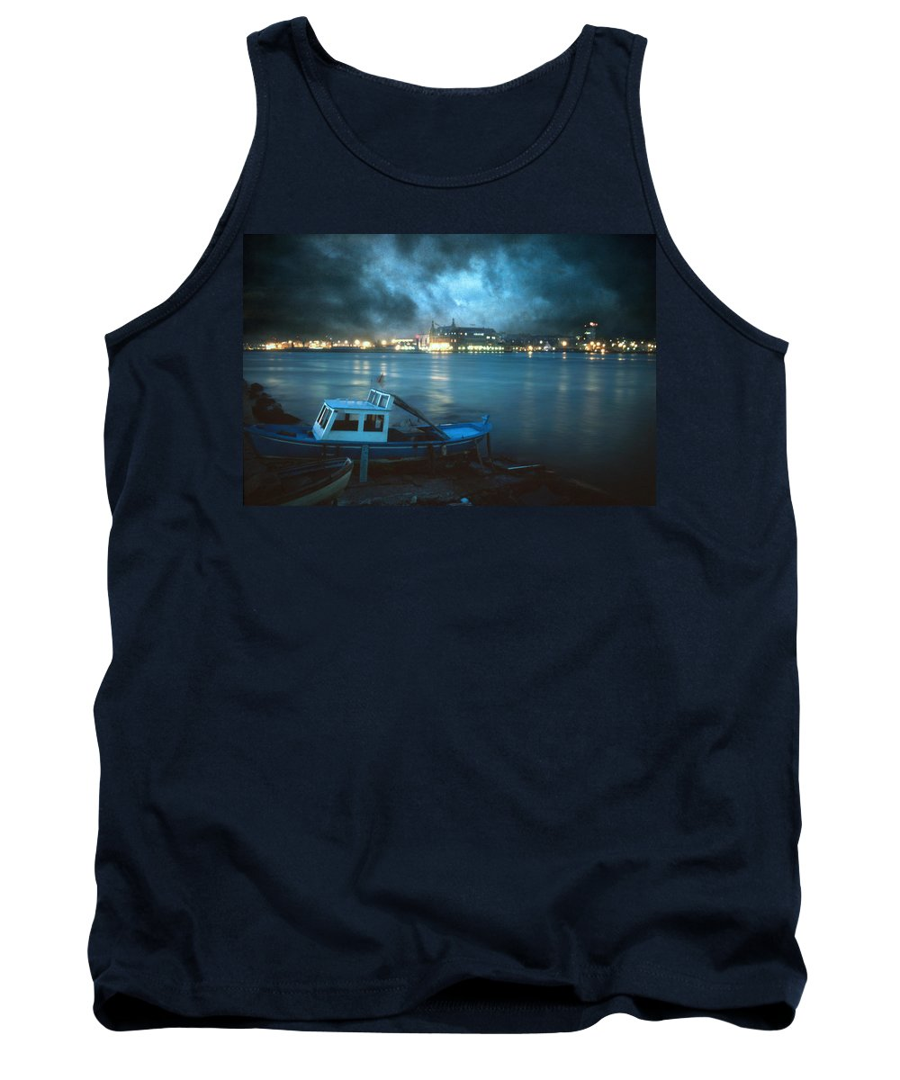 Seascape Tank Top featuring the photograph Night After Night by Zapista Zapista