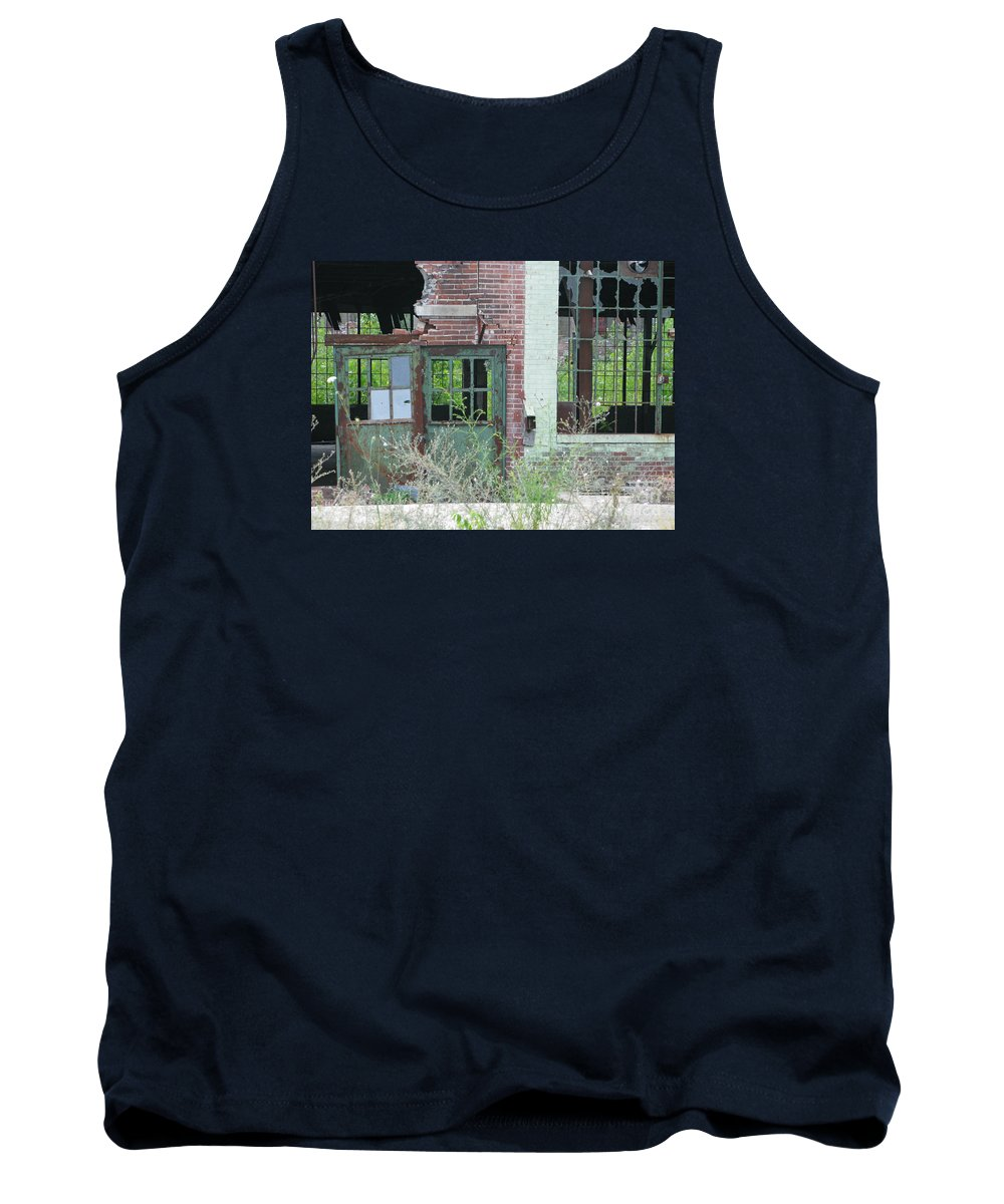 Factory Tank Top featuring the photograph Obsolete by Ann Horn