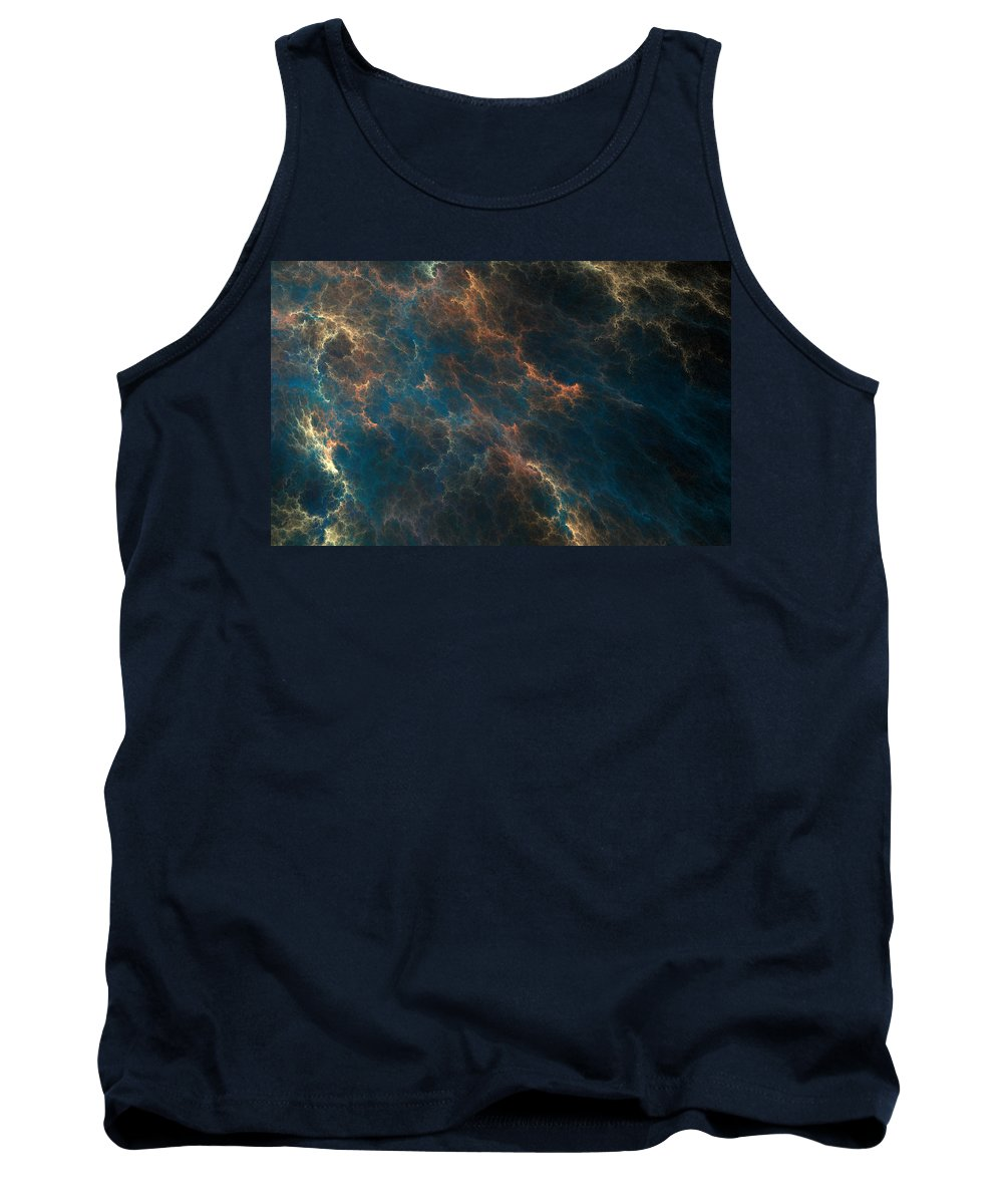 Hazey Tank Top featuring the digital art Oh Hazey Jane by Brainwave Pictures