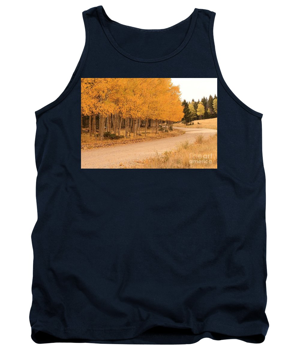 Ashley Mann Tank Top featuring the photograph Open Road 5 by Ashley M Conger